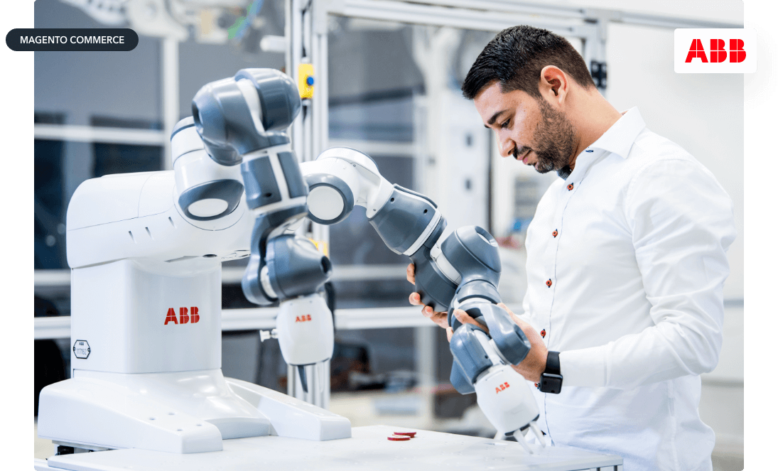 ABB Robotics B2B Commerce Platform